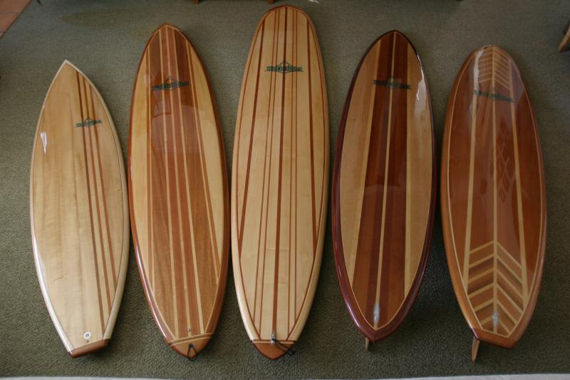 surf Vintage board wood